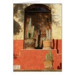 Entrada con los cactus, San Miguel de Allende Tarjeta