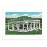 Entrada conmemorativa en la opinión del cementerio tarjetas postales