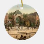 Entrada Copenhague del parque de Tivoli Ornamentos Para Reyes Magos