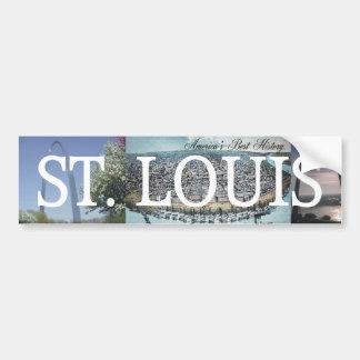 Entrada de ABH St. Louis Pegatina Para Auto
