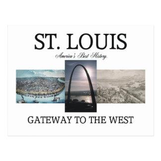 Entrada de ABH St. Louis Tarjetas Postales