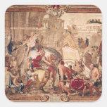 Entrada de Alejandro III el grande en Colcomania Cuadrada
