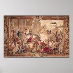 Entrada de Alejandro III el grande en Poster