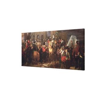 Entrada de Enrique IV en París, el 22 de marzo de  Impresiones De Lienzo
