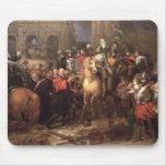 Entrada de Enrique IV en París, el 22 de marzo de  Tapete De Ratones