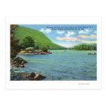 Entrada de Huletts a los estrechos, la isla de Postales
