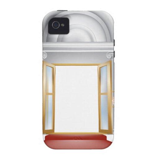 Entrada de la alfombra roja vibe iPhone 4 funda