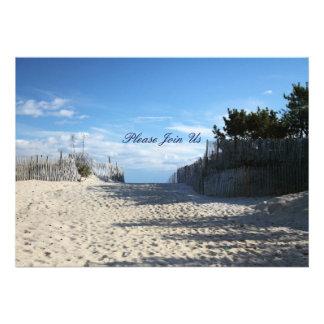 Entrada de la playa comunicados personales