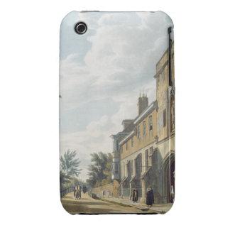Entrada de la universidad de Winchester con Hous d iPhone 3 Carcasa