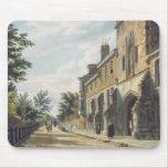 Entrada de la universidad de Winchester con Hous d Tapetes De Raton