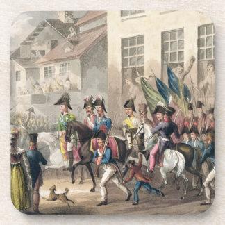 Entrada de los aliados en París el 31 de marzo de Posavasos De Bebida