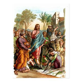 entrada de los christs en la postal