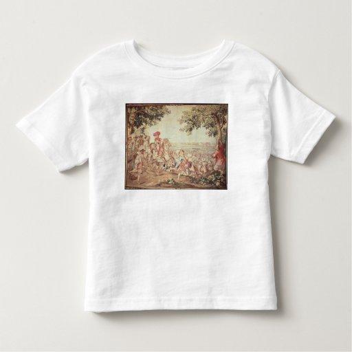 Entrada de Louis XIV en Dunkerque Playeras