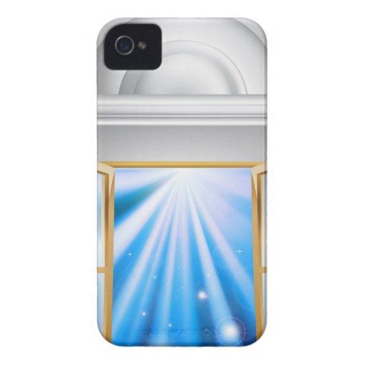 Entrada de mármol de la puerta Case-Mate iPhone 4 fundas