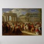 Entrada de Napoleon I en Berlín Impresiones