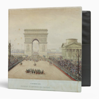 "Entrada de Napoleon III en París Carpeta 1 1/2"""