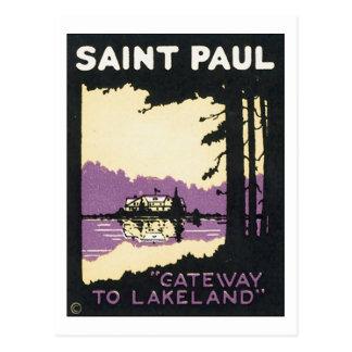 Entrada de San Pablo a Lakeland Tarjeta Postal