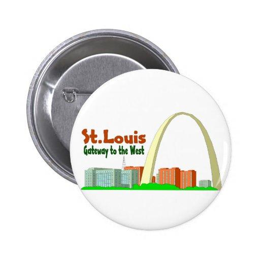 Entrada de St. Louis al oeste Pins