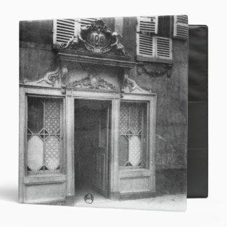 Entrada de un burdel en París