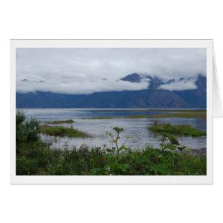 Entrada del cocinero, esperanza Alaska Tarjeta Pequeña