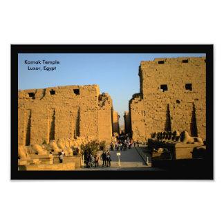Entrada del templo de Karnak Fotografías