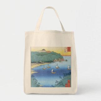 Entrada en la provincia de Awa de Ando Hiroshige Bolsa Tela Para La Compra