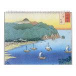 Entrada en la provincia de Awa de Ando Hiroshige Calendarios
