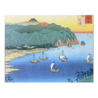 Entrada en la provincia de Awa de Ando Hiroshige Postal