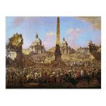 Entrada en Roma de Jerzy Ossolinski Tarjetas Postales