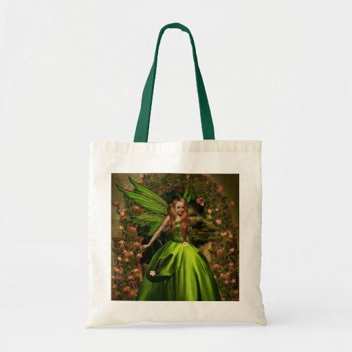 Entrada encantada bolsa lienzo