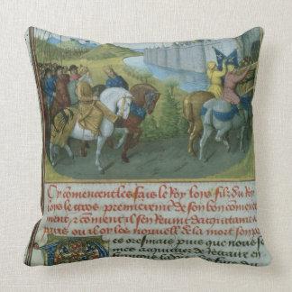 Entrada f 22 del franco 6465 de Louis VII en Const Almohada