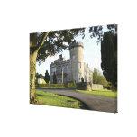 Entrada lateral del castillo de Dromoland sin Impresión En Lona