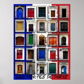 Entradas de París Póster
