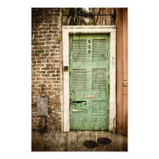 Entradas del barrio francés arte fotografico
