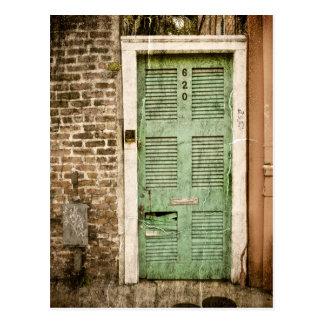 Entradas del barrio francés postal