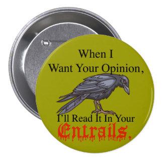 entrañas del botón pin redondo de 3 pulgadas