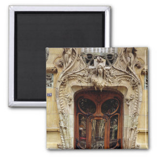 Entrance door to the apartments 2 inch square magnet