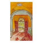 Entrance Hall of Saint-Paul Hospital by Van Gogh Business Cards