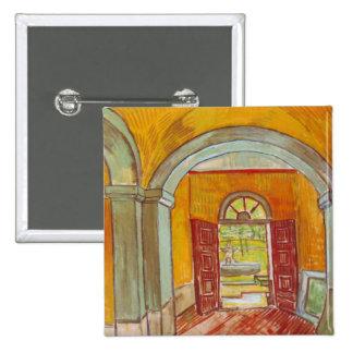 Entrance Hall of Saint-Paul Hospital by Van Gogh Pins
