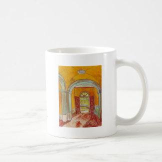 Entrance Hall of Saint-Paul Hospital by Van Gogh Coffee Mug