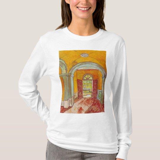 Entrance Hall of Saint-Paul Hospital by Van Gogh T-Shirt