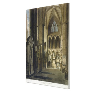 Entrance into Poet's Corner, plate 26 from 'Westmi Canvas Print