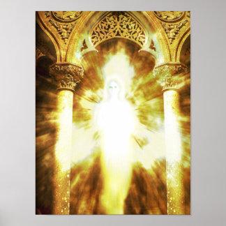 Entrance into Spiritual Light Poster