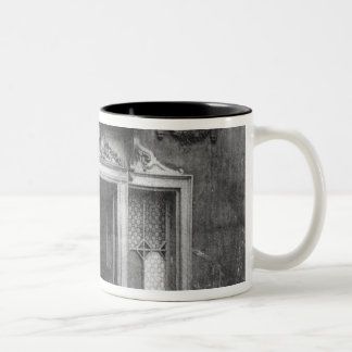 Entrance of a brothel in Paris Two-Tone Coffee Mug