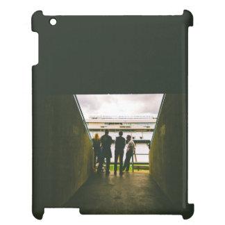 Entrance of a stadium iPad case