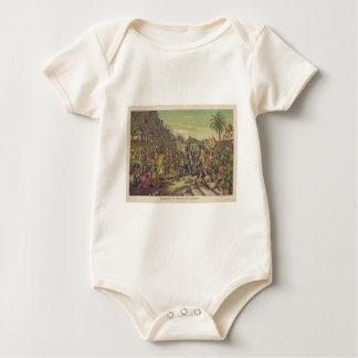 Entrance of Hernan Cortez into Mexico Nov 8th 1519 Baby Bodysuit