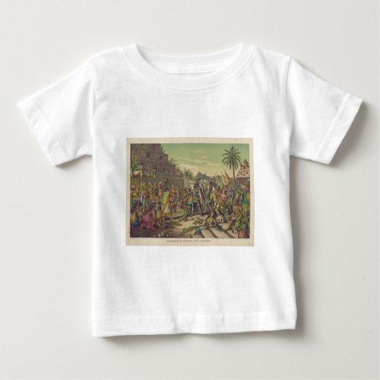 Entrance of Hernan Cortez into Mexico Nov 8th 1519 Baby T-Shirt