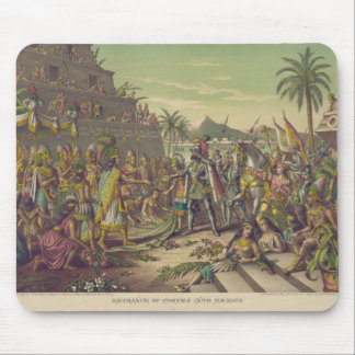Entrance of Hernan Cortez into Mexico Nov 8th 1519 Mouse Pad
