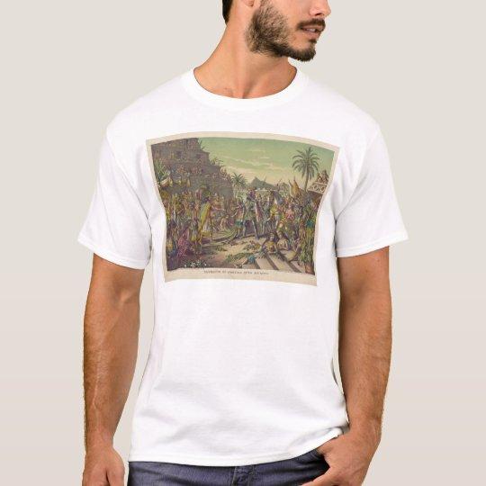 Entrance of Hernan Cortez into Mexico Nov 8th 1519 T-Shirt