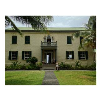 Entrance of Hulihe'e Palace in Kailua-Kona, Hawaii Postcard